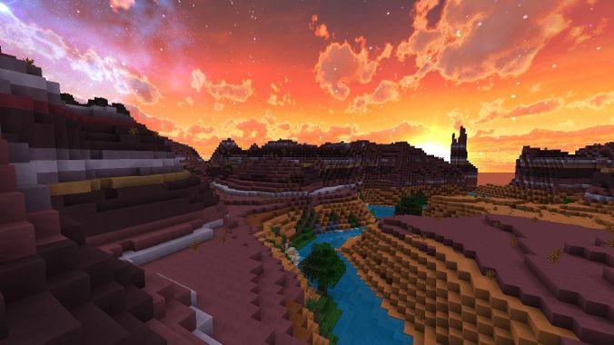Les biomes Minecraft