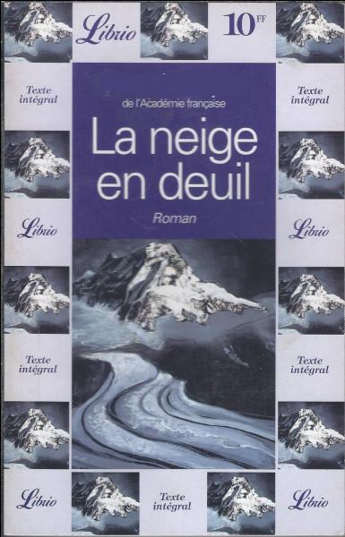 """J'ai écrit """"La Neige en deuil"""", je suis Henri :"""