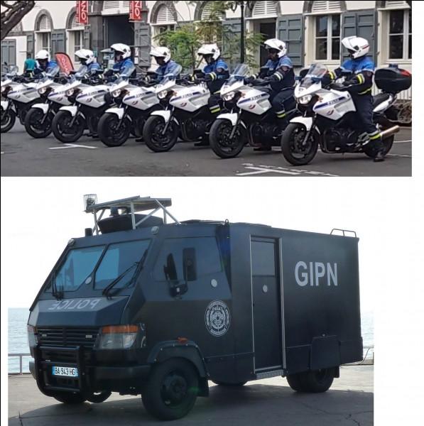 La Police nationale emboîte le pas avec un fourgon blindé et...