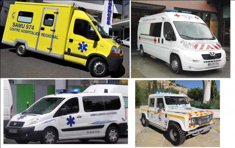 Ils mettent leur métier à l'honneur pendant le défilé, qu'ils soient ambulanciers, infirmiers, médecins et secouristes.Parmi ces véhicules, lequel n'est pas réel ? Celui, sur...