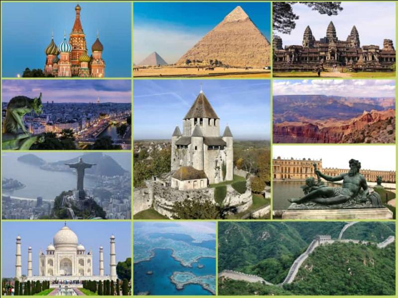 [Culture] — Parmi ces lieux remarquables, lequel est inscrit à l'UNESCO ?