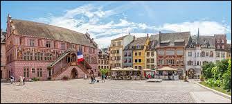 Dans quel département se situe la ville de Mulhouse ?