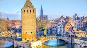 Dans quel département se trouve la ville de Strasbourg ?