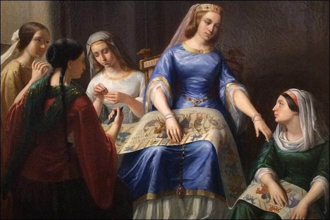La tapisserie de la reine Mathilde à Bayeux raconte la conquête de quel pays d'Europe ?