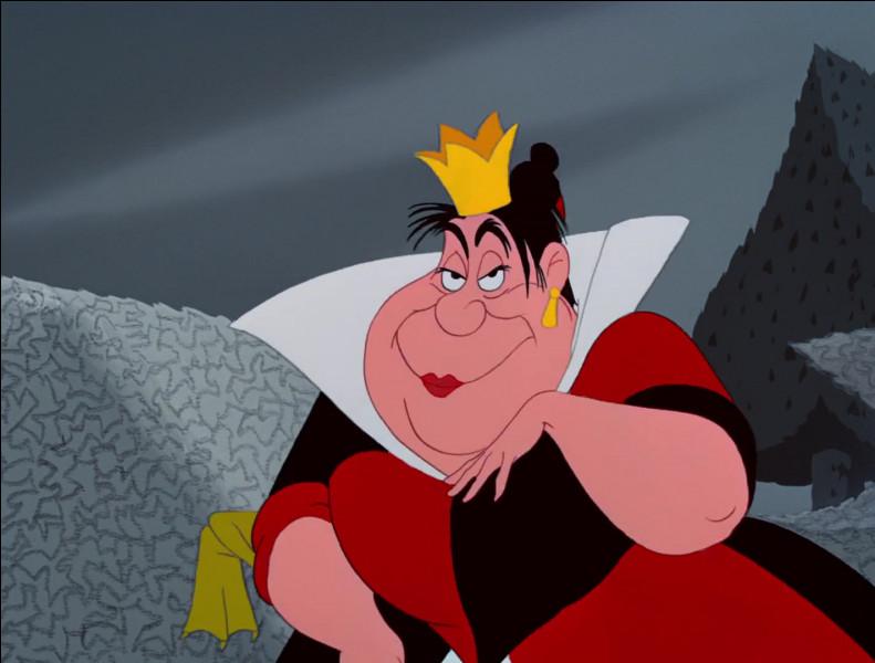 """Que déteste la Reine de Coeur dans """"Alice au pays des merveilles"""" ?"""