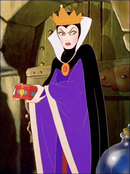 Dans quel dessin animé rencontre-t-on La Méchante Reine ?