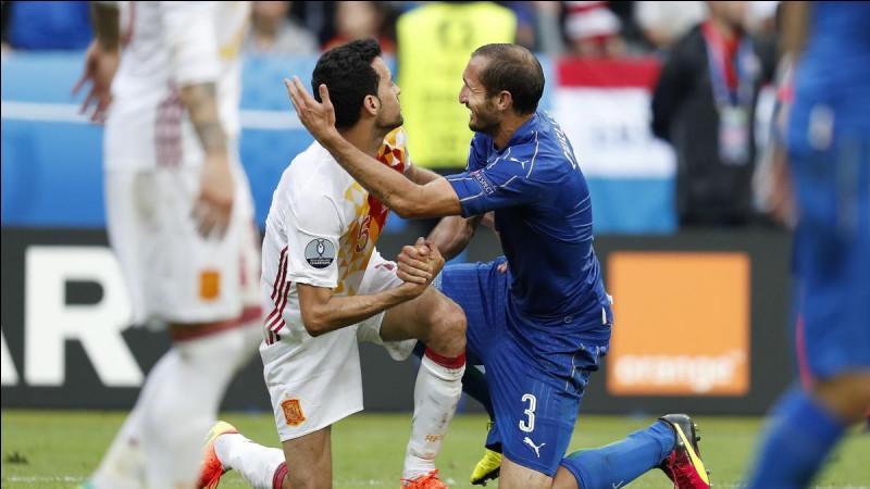 Quel est le score de la demi-finale entre l'Italie et l'Espagne ?