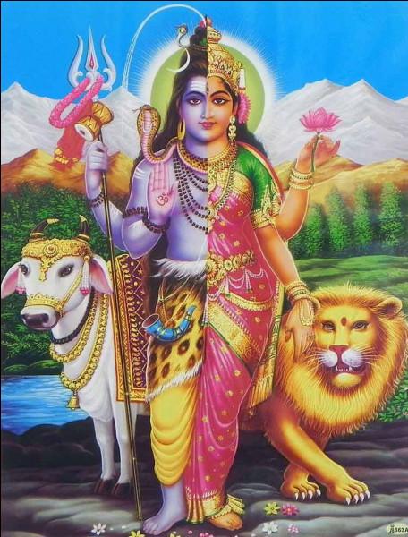 Dans l'hindouisme, énergie créatrice féminine :