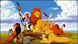 """Dans """"Le Roi lion"""", qui jette du haut d'une falaise pour qu'il s'écrase et se fasse ensuite piétiner par un troupeau de gnous ?"""