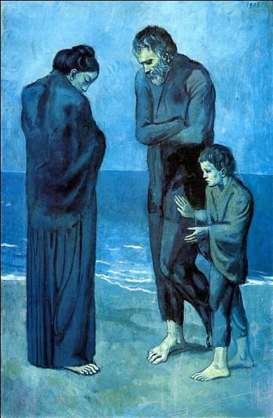 """À quel artiste doit-on ce tableau intitulé """"Les Pauvres au bord de la mer"""" ?"""