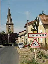 Village Meusien, Vaudoncourt se situe dans l'ancienne région ...
