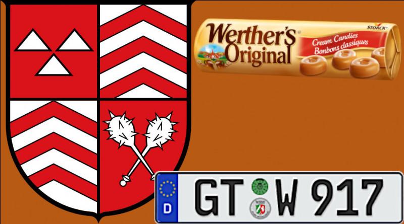 La petite ville de Werther (11 274 h.) appartient au district de Gütersloh (GT, dans le land de Rhénanie-du-Nord-Westphalie) : pourquoi cette ville est-elle connue ?
