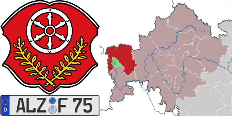"""Querelles d'Allemands > L'""""arrondissement d'Aschaffenburg"""", au nord-ouest de la Bavière, a logiquement pour chef-lieu la ville d'Aschaffenburg mais porte l'immatriculation """"ALZ"""" : pourquoi donc ?"""
