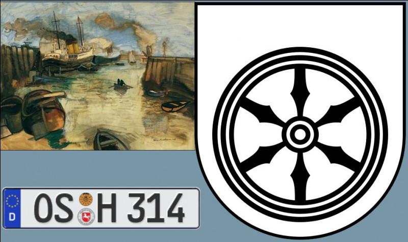 """Quelle est cette ville de Basse-Saxe où vous tomberez sur un """"OS"""", patrie du peintre Félix Nussbaum, dont les armoiries laissent à penser qu'ils ont inventé la Ruhr ?"""