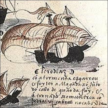 10 août 1500 : Quel explorateur portugais, détourné par une tempête, découvre l'île de Madagascar ?