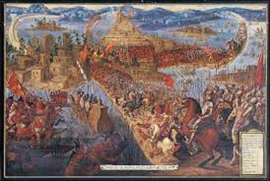 13 août 1520 : Le conquistador Hernan Cortès prend, avec ses alliés, les Tlaxcaltèques, la ville capitale de Tenochtitlan, entraînant le déclin d'un peuple, lequel ?