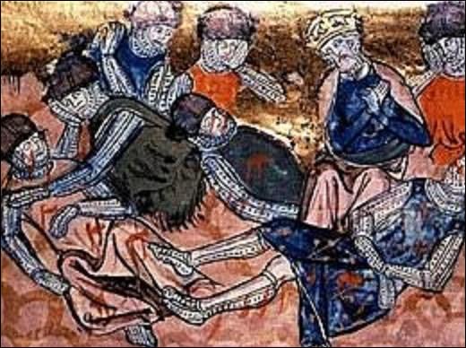 15 août 778 : En franchissant le défilé de Roncevaux, dans les Pyrénées, l'arrière-garde de l'armée de Charlemagne, commandée par Roland, est attaquée par les Vascons (Basques) qui sont insoumis. Quel lien de parenté y avait-il entre le futur empereur et Roland ?
