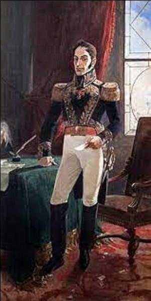 7 août 1819 : Bolivar vainc les Espagnols à Boyacá. Après avoir franchi les Andes, Simon Bolivar continue son avancée vers la Nouvelle-Grenade (la Colombie actuelle). La bataille du pont de Boyacá lui ouvre la route de Bogota. Auparavant, de quel pays s'était-il rendu maître ?