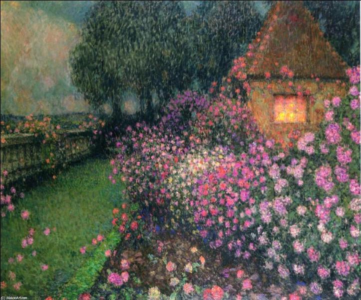 """Qui est le peintre du """"Pavillon des roses"""" ?"""
