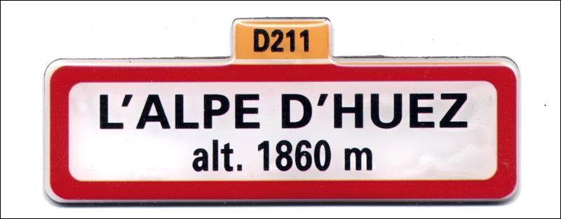 Première arrivée du tour de France à l'Alpe d'Huez