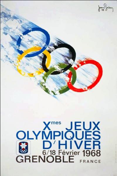Lors des jeux olympiques de 1968 , quelle discipline fût choisie pour cette station