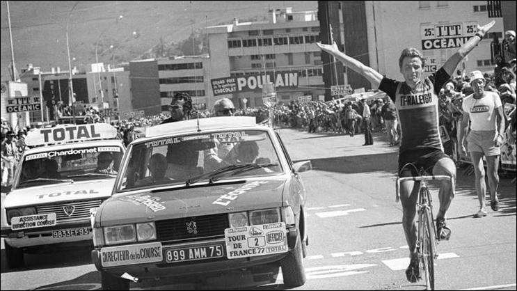 Lors de l'édition 1977, 30 coureurs ont terminé hors délais et sont éliminés :