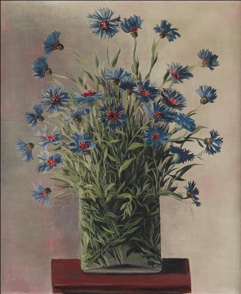 Qui a représenté ce bouquet de bleuets ?