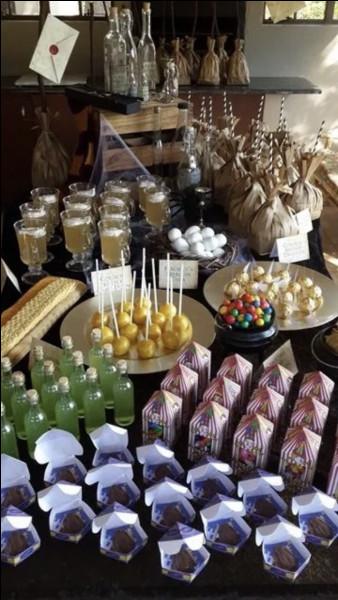Quelle sucrerie n'existe pas dans le monde des sorciers ?