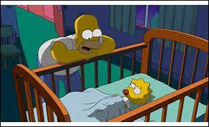 Maggie a-t-elle toujours un lit de bébé ?