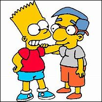 Avec qui Bart passe-t-il son temps ?