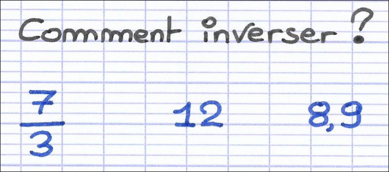 Quel est le nombre inverse de 1 ?