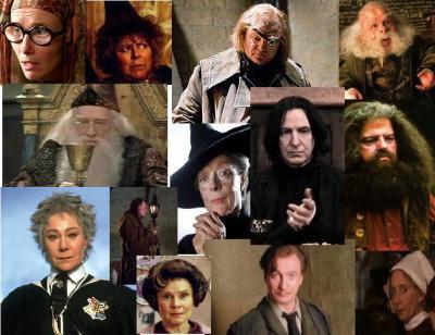 Les profs dans Harry Potter