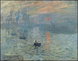 """Art : Le tableau """"Impression, soleil levant"""" de Claude Monet a donné son nom au courant impressionniste. Quel port normand Monet a-t-il peint ?"""