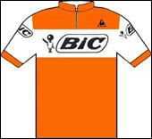 Sur l'édition 1968 , quel coureur français de l'équipe Bic réalise le doublé, prologue du Tour d'Italie et du Tour de France ?