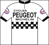 1979 voit le retour de l'équipe Peugeot avec Michel Laurent qui termine quatrième du classement général. Quel coureur de cette même équipe prend la place de second Français au classement final ?