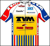 Quel coureur français de l'équipe hollandaise TVM, en 1998, gagne une étape et prend le maillot de leader le même jour ?