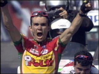 La même année Richard Virenque gagne son étape sur quelle arrivée ?