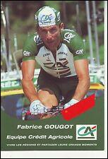 En 2002 Fabrice Gougot et le seul Français engagé. Pour quelle équipe roule-t-il ?