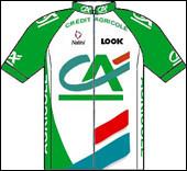 Quel coureur de l'équipe cycliste Crédit Agricole remporte une étape en 2005 ?