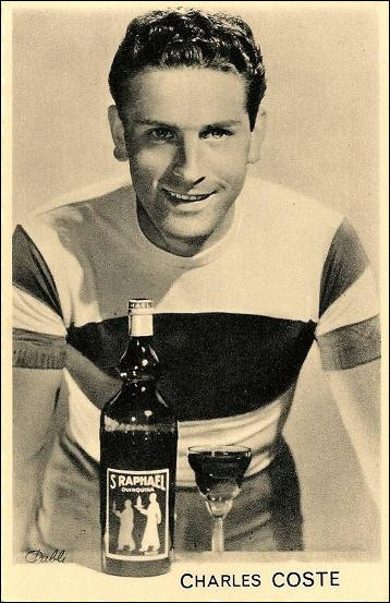 Charles Coste est le seul coureur de l'équipe de France à terminer en cette année 1956.