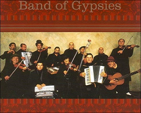 Ensemble de musiciens tsiganes :