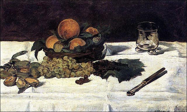 """Qui a représenté ces """"Fruits sur une table"""" ?"""