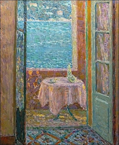 """Qui a peint """"La Table de la mer"""" ?"""