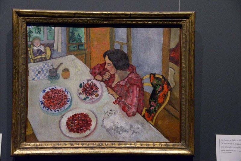 """Qui a immortalisé """"Bella et Ida à table"""" ?"""