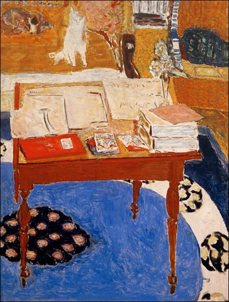 "Qui a peint ""La Table de travail"" ?"