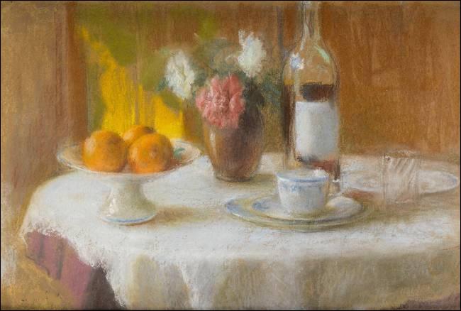 """Qui est le peintre de """"La Table servie"""" ?"""