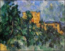 """Qui a peint ce tableau intitulé """"Château Noir"""" ?"""