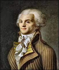 En quelle année est né Robespierre, l'une des principales figures de la Révolution française ?