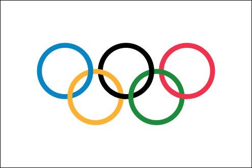 C'est en 1920 que le drapeau olympique a flotté pour la 1re fois.