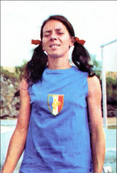 Médaillée d'or du 400m aux JO de Mexico, cette athlète française s'appelait Christine Caron.